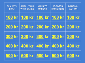 How to Live in Denmark Jeopardy