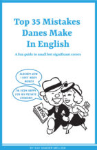 Top Mistakes Danes Make in English