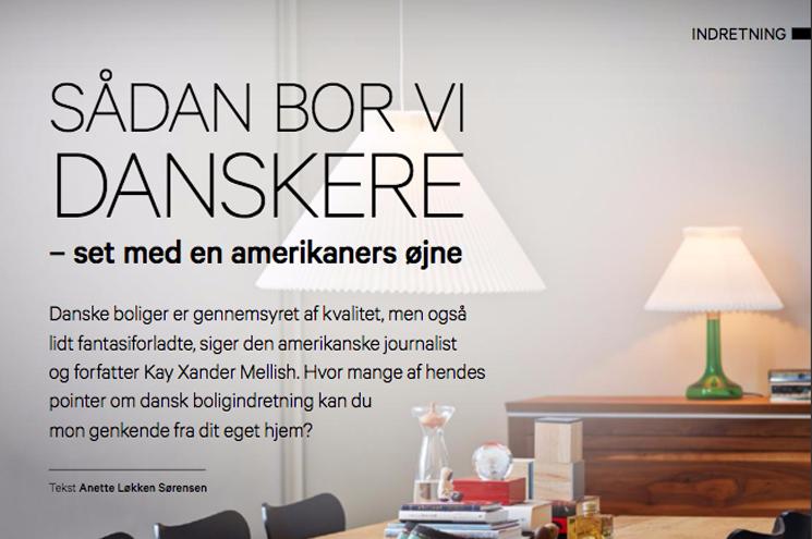 Dansk kultur set med amerikansk øjne