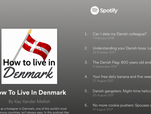 How to Live in Denmark podcast on Spotify