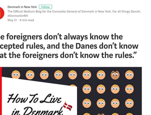 Denmark vs NYC
