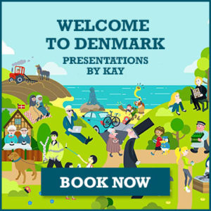 Welcome to Denmark presentations by Kay Xander Mellish