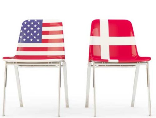 tips for Danes working with Americans