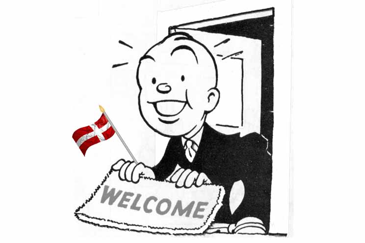 welcoming newcomers to Denmark