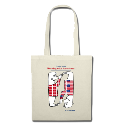 Working with Americans Tips for Danes merchandise bag