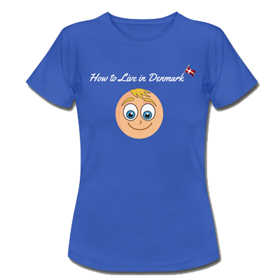 How to Live in Denmark T-Shirt Blue