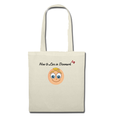 How to Live in Denmark Merchandise Cloth Bag