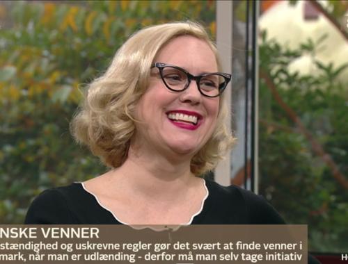 Making Friends Go' Morgen Danmark Kay Xander Mellish