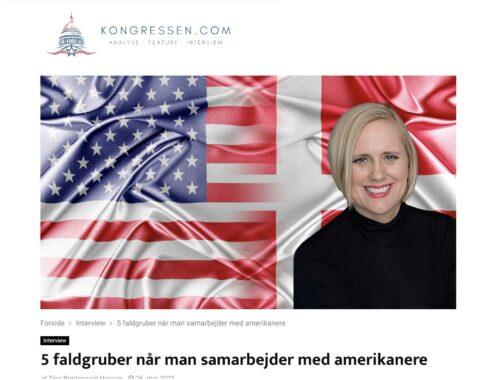 forskelle på virksomhedskulturen i Danmark og i USA